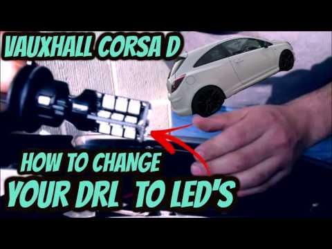 Corsa D side light change (LED)
