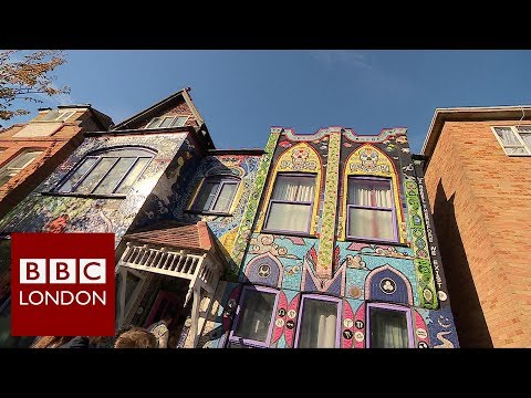 The mosaic house in Chiswick – BBC London News