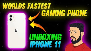 I PHONE 11 UNBOXING|| FREE FIRE SPPED TEST|| FREE FIRE BEST GAMING MOBILE UNPOXIONG
