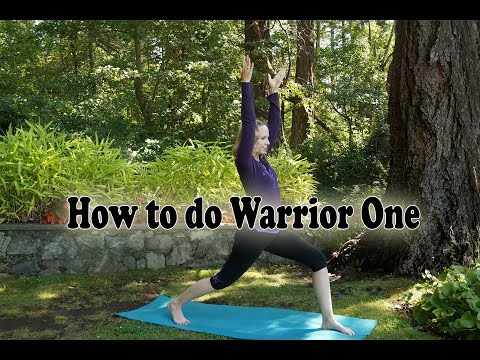 How to do Warrior One