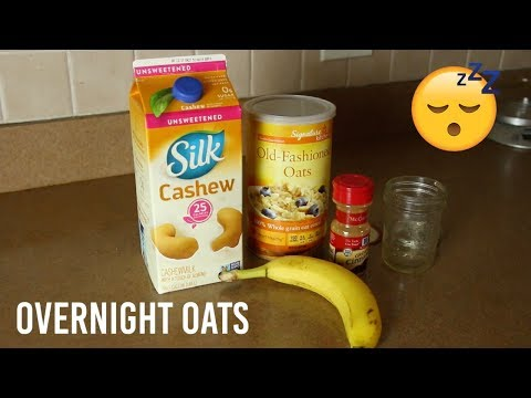 What I Ate To Lose Weight - Overnight Oats Breakfast | PAIGE MARIAH
