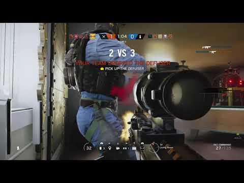 Rainbow Six Siege 3 kills on house