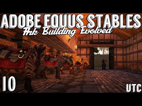 Ark Building Evolved :: Episode 10 :: Roman Equus Stables (Part 1) :: Ark Creative Building :: UTC