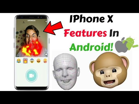 IPhone X Animoji Features in ANDROID! 🔥🔥😍