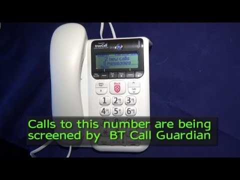 The BT Decor 2600 with Nuisance call blocking