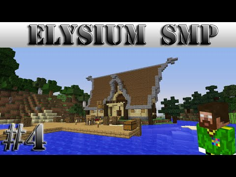 The General on Elysium SMP - #4 - Viking House!