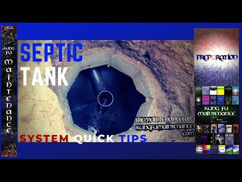 Septic Tank System Quick Tips