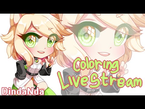 Live Stream - Coloring - Mouse & Paint Tool SAI