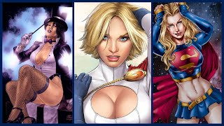 Top 10 Hottest Female Superheroes in DC Comics