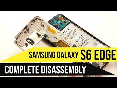 Galaxy S6 Edge Repair & Disassembly Video Guide