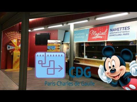 Magical Shuttle en CDG Aeropuerto - Traslado a Disneyland París