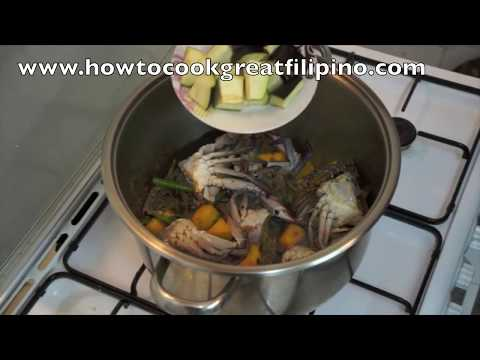 Ginataang Alimasag Recipe - Pinoy Filipino Crab