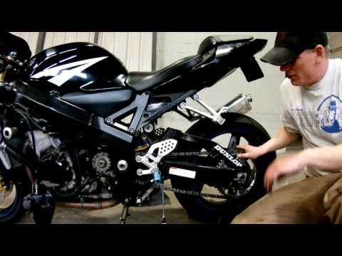 How To: 2005 GSXR 600 Sprocket Install