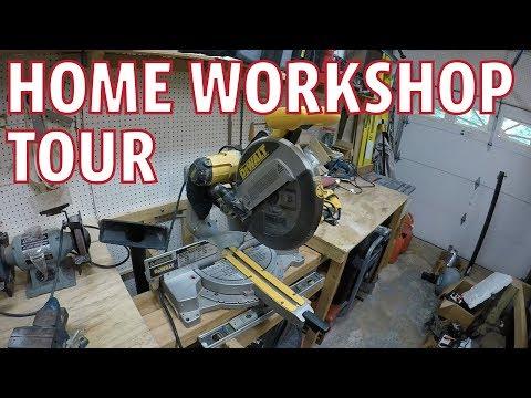 Home Workshop Tool Tour - Dremel Sander
