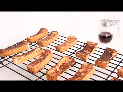 French Toast Sticks Recipe - Laura Vitale - Laura in the Kitchen Episode 966