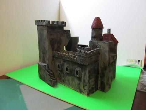 How to make a Foam Castle - that really looks fantastic!