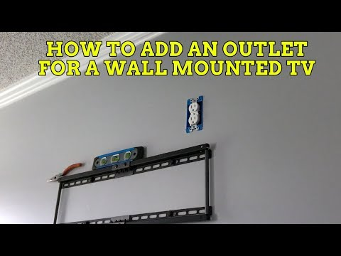 How To Hide Your TV Wires for a Wall Mounted TV!