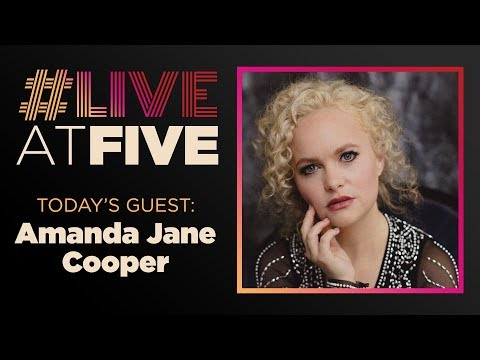 Broadway.com #LiveatFive with Amanda Jane Cooper of WICKED
