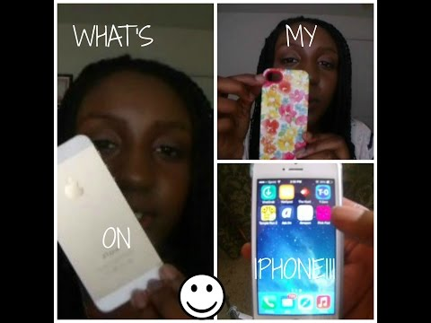 WHAT'S ON MY IPHONE 2014!