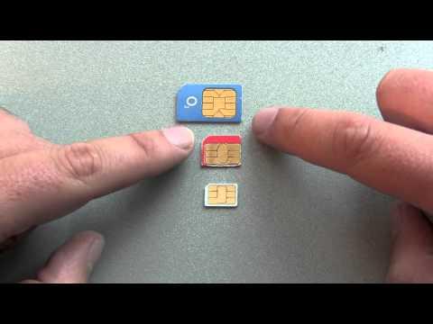 Nano SIM vs Micro SIM vs Normal SIM card comparison