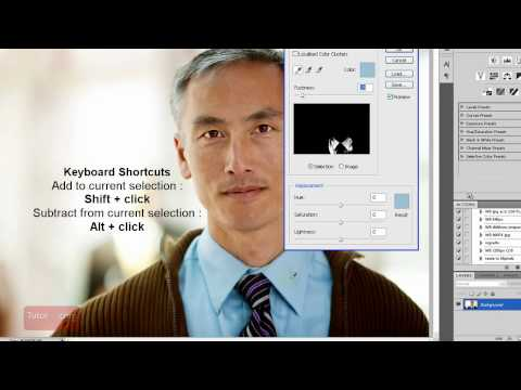 Photoshop CS4 Tutorial: How to Replace a Color [Beginner]