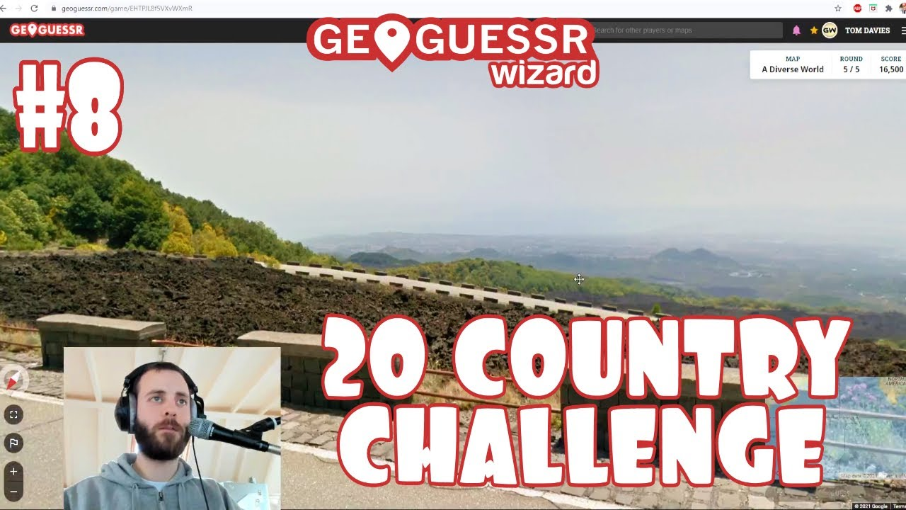 Make yourselves comfortable.. 20 Country Challenge #8