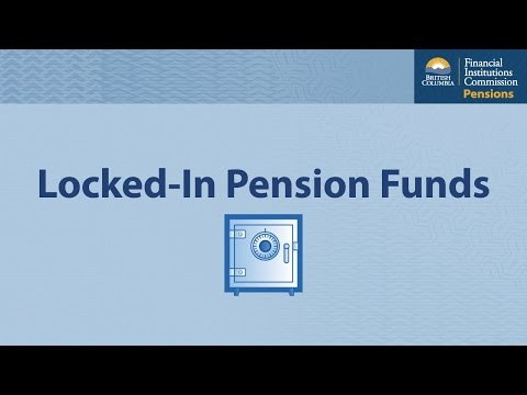 BC's Financial Institutions Commission – Locked-in Pension Funds