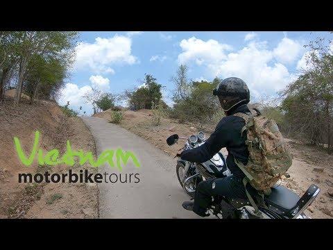 VIETNAM MOTORBIKE TOURS riding the amazing coastline