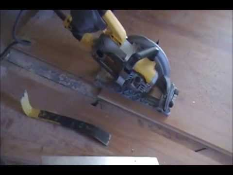 How To Install New Hardwood Connecting to Existing Floor by HPFirearms