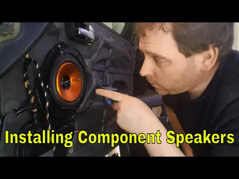 How to install & upgrade car Speakers Ford Mondeo MK3