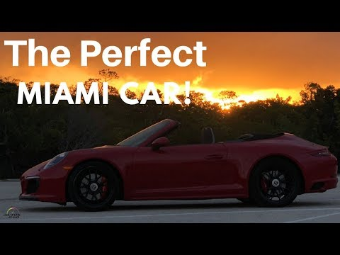 2018 Porsche 911 Carrera GTS Cabriolet, from the office to the beach in Miami
