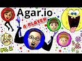EATING EACH OTHER AGARIO 4 Player FGTEEV Battle Duddy Vs Family Multiplayer Gameplay