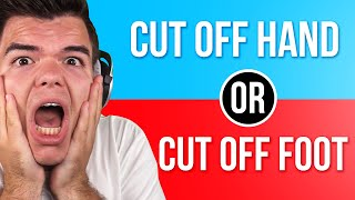 What WOULD YOU CHOOSE?! (Would You Rather)