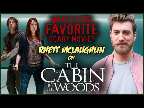 Rhett McLaughlin on THE CABIN IN THE WOODS | What's Your Favorite Scary Movie?
