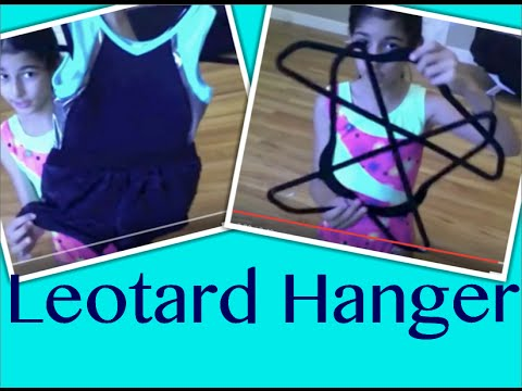 How To Make A Gymnastics Leotard Hanger