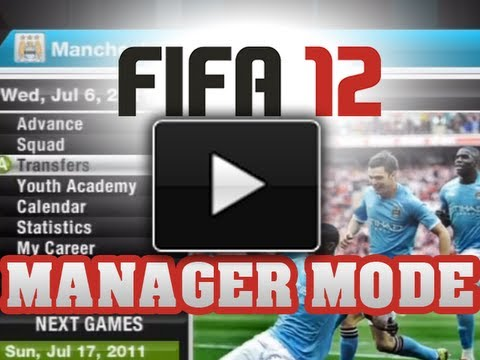 FIFA 12' - Manager Mode w/ Man City - Ep.1 - Getting New Players (FIFA 12 Gameplay)