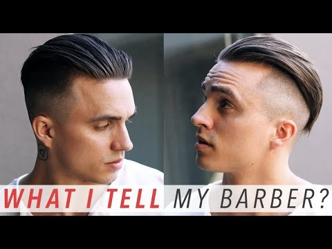How I Get My Haircut + What I Tell My Barber! | STEP BY STEP Undercut Tutorial [4/1/18]