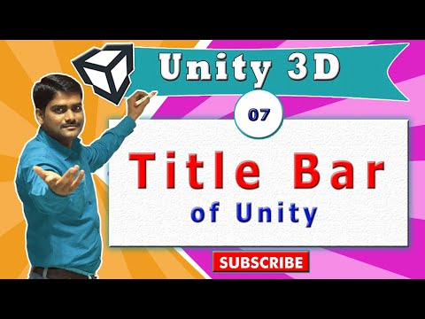 Unity Essentials Tutorial 07 - Title bar