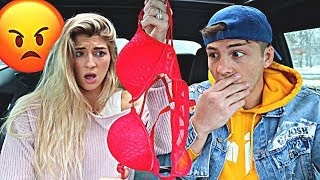 SHE FOUND ANOTHER GIRLS BRA IN MY CAR! (PRANK GONE WRONG)
