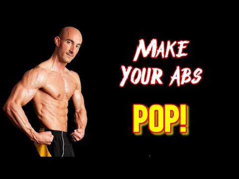 How To Flex Your Abs For a Photo Shoot