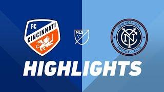 FC Cincinnati vs. NYCFC   HIGHLIGHTS - August 17, 2019