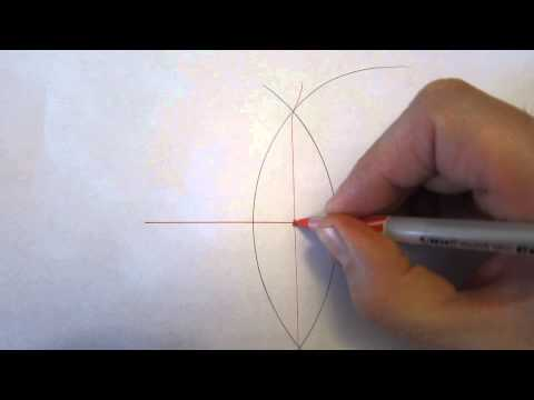 Bisecting a Line without a Ruler