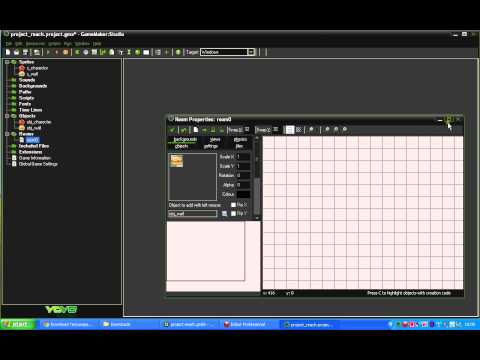 how to make a simple game in game maker studio