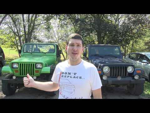 TJ vs YJ The Two Best Wranglers Made (Fast Friday)
