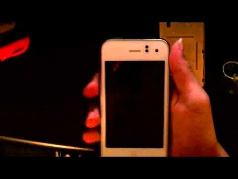 White iPhone 3GS White Screen