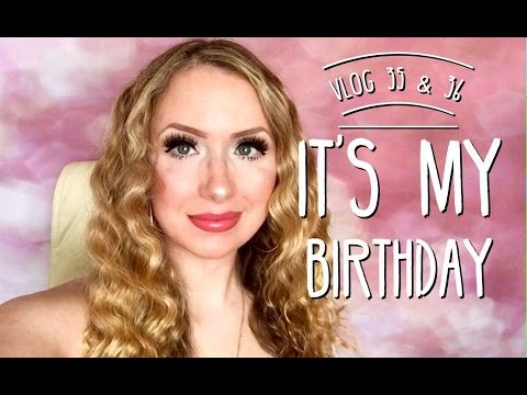 💜 Vlogust 2016 💜 It's My Birthday & 15% Discount Code for Millie's Melts 💜 Follow me Days 35 & 36