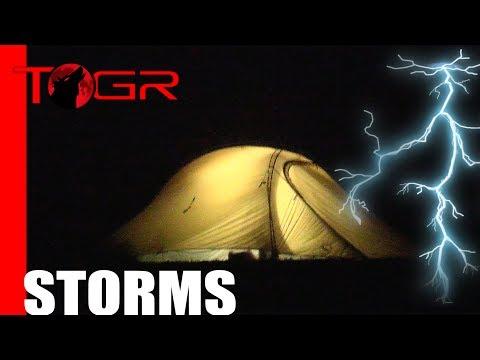 Rain and Storms - Test Night - Big Agnes Slater UL2 - Setup Ventilation Storms
