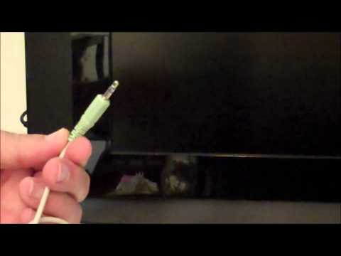 Improve your HD TV speaker sound using your PC Speaker system