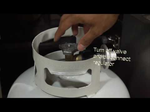 Twin Eagles Service Series: Resetting the Propane Tank Regulator