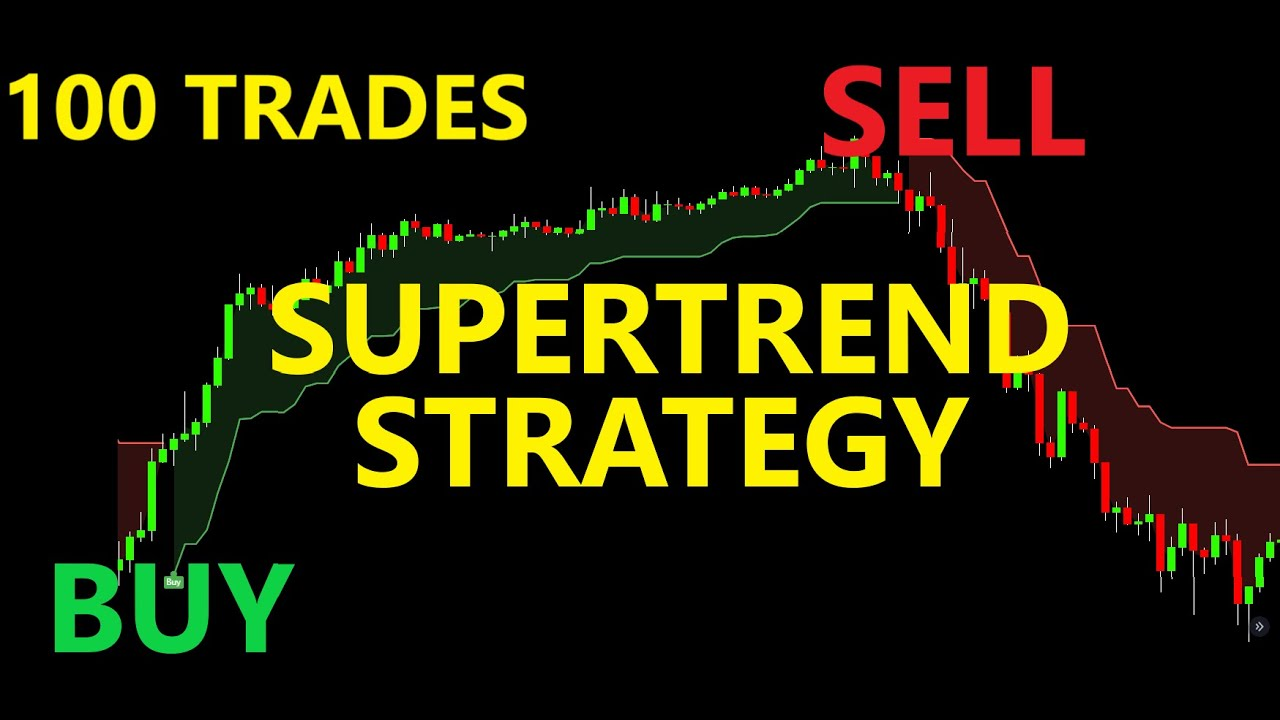 Supertrend Indicator Trading Strategy Tested 100 Times - Full Result